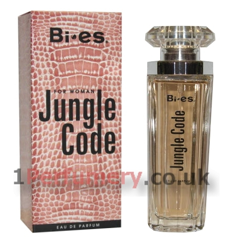 d4afa27dc3 Bi-Es Jungle Code - Eau de Parfum 50 ml- www.1Perfumery.co.uk