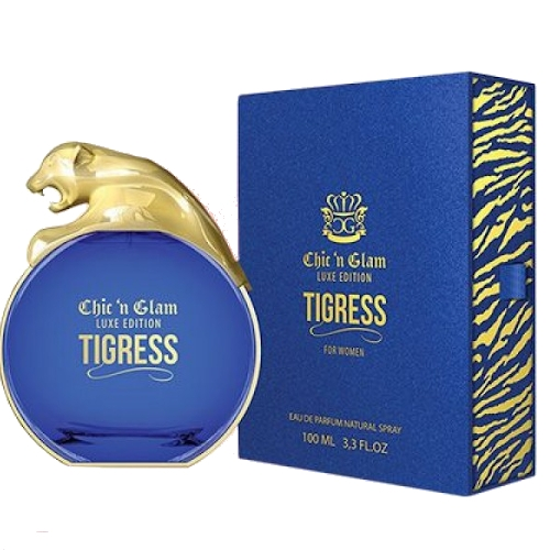 New Brand Chic'n Glam Tigress - Eau de Parfum for Women 100 ml